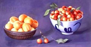 Cherries & Apricots horiz