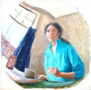 Self Portrait in Convex Mirror