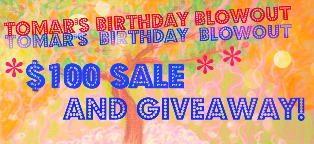Tomar's Birthday Blowout banner