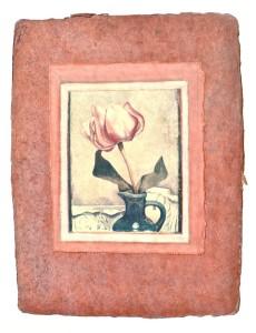 collage paper tulip