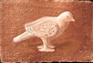 Stone bird sharper